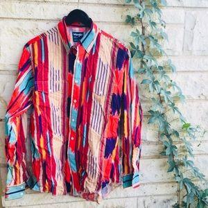 Wrangler multicolored shirt.good condition